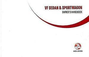 HOLDEN VF OWNERS MANUAL HANDBOOK 2015 (SEDAN/SPORTWAGON)