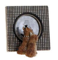 """Raz SCOTTIE DOG Picture Frame 5.5"""" x 5.5""""  - STURDY & HANDSOME!"""