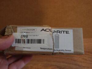 AcuRite 06002M Wireless Temperature and Humidity Sensor Outdoor indoor