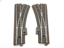 Marklin 24611/24612 HO Gauge C Track Pair of Manual Turnouts