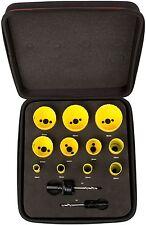 Starrett KFC11022 bi-metal fast cut plumbers & engineers holesaw kit pouch set