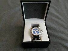 Oakley HoleShot Watch Honed Blue Dial Black Rubber Band Very Rare