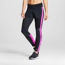 NWT C9 Champion Women's Premium Run Tight Pants Leggings Black sz XS