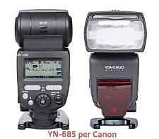 YONGNUO YN685 speedlite E-TTL Flash per Canon EOS HSS YN685 wi-fi 5D 6D 7D 700D
