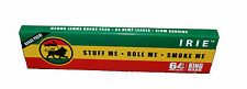 IRIE  EXTRA LIGHT HEMP ROLLING PAPERS KING SIZE SLIM 64 LEAVES per BOOKLET