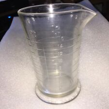 Vintage Glass Graduate 16 oz. Beaker Darkroom Film Processing Measuring Cup