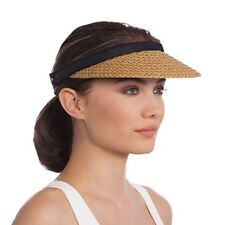 Straw Visor Hats for Women  d7d3db0359a