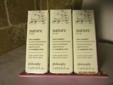 3 x Philosophy Nature In A Jar Cica Complex Recovery Moisturizer .16 oz each
