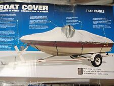 "BOAT COVER V-HULL RUNABOUTS LOW PROFILE 50-97351 BOATS 21FT TO 23FT 105"" BEAM"