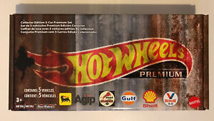 2020 HOT WHEELS Vintage Oil 5 Car Set (inc. Dodge, Chevy, Studebaker, Airflow)