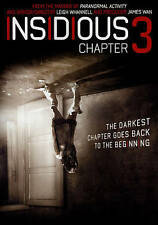 Insidious: Chapter 3 (DVD, 2015) New