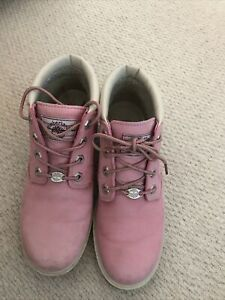 PINK TIMBERLAND BOOTS SIZE 4