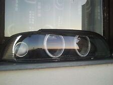 NEW 2X BMW E39 Headlight Lens Angel Eyes For Pre Facelift Style OEM Head Lamps