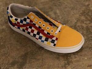 Vans X Peanuts Custom Vault Old Skool Checkerboard Woodstock M 11.5 Snoopy