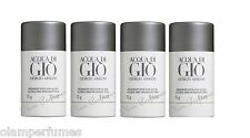 Pack of 4 Acqua di Gio Deodorant Stick 2.6oz 75g each by Giorgio Armani