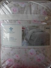 Simply Shabby Chic TWIN Dutchess Blossom Rose Comforter + Sham ~ NEW