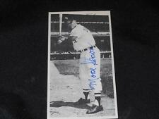 Chicago White Sox Moose Skowron (d.07) Signed 3x5 Autograph Photo Card  JB10