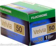 2 x Fuji Velvia 50 50iso 35mm 36exp Cheap Colour Slide Film by 1st CLASS POST
