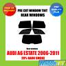 AUDI A6 ESTATE 2006-2011 20% DARK REAR PRE CUT WINDOW TINT