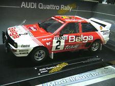 AUDI Quattro Rallye Boucles Spa 1983 Duez Belga Gr.B #2 SMS SST Sunstar 1:18