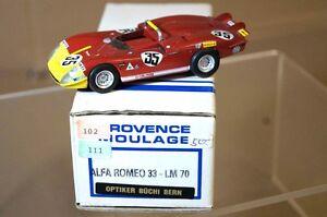 PROVENCE MOULAGE 1970 ALFA ROMEO 33 LE MANS 35 ar