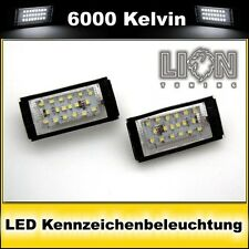 LED SMD Kennzeichenbeleuchtung BMW E46 Coupe, Cabrio weiss