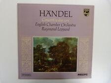 Lp Handel conciertos un debido Cori Raymond Leppard
