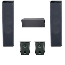 Premier Acoustic 5.0 Home Theater System Bundle with 2 Pa-6F Tower Speakers, 2 P
