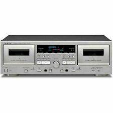TEAC Silver Double Cassette Deck W-1200