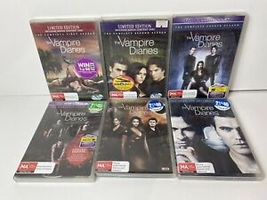 The Vampire Diaries | Complete Season 1, 2, 4, 5, 6 & 7 | DVD Disc PAL R4 AU NZ