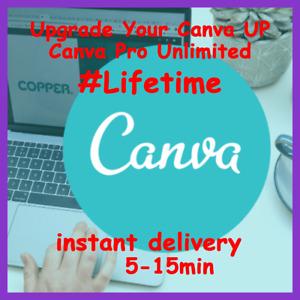 Canva Pro Unlimited Lifetime Canva Pro Edu Private Acc Lifetime 2021