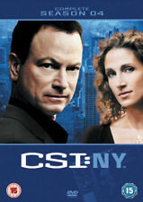 CSI New York Season 4 DVD NEW DVD (MP1049D)