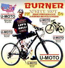 66cc/80cc 2-Stroke 66Cc/80Cc Motorized Bicycle Kit And 26� Mt Bike Diy Power