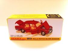 DINKY TOYS No.158   Superb custom display box - ROLLS ROYCE SILVER SHADOW