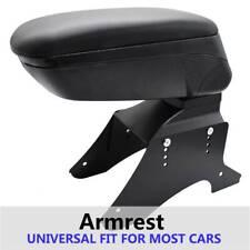 Universal Arm Rest Armrest Central Centre Console Car Auto New Black Boxes