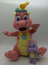 Dragontales Cassie Dragon and Mini Purple Dragon Plush Set Stuffed Playskool