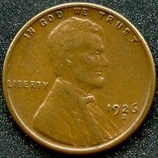 1926-S (AU) 1C LINCOLN CENT