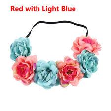 New Wedding Flower Wreath Crown Headband Beach Floral Garlands Hair band Decor