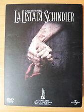 2 DVD La Lista de Schindler,Steven Spielberg