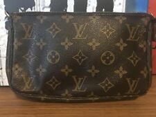 Louis Vuitton Monogram Pochette Clutch Handbag Authentic Please Read Description