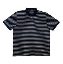 Polo Ralph Lauren Purple Label Shirt Mens XL Blue Short Sleeve Golf Button Up