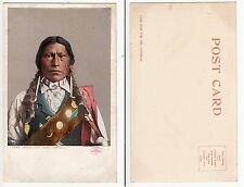 Apache indios jefe James a Garfield, Native American Indian Chief 1899