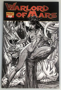 WARLORD OF MARS #1 SKETCH VARIANT 1:75 BY CAMPBELL DYNAMITE ENTERTAINMENT