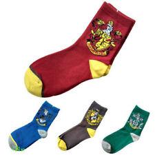 4 Harry Potter Juniors Ankle Socks Set Gryffindor Slytherin Hufflepuff Ravenclaw