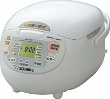 Zojirushi NS-ZCC18 10-Cup Neuro Fuzzy Rice Cooker, 1.8-Liters  *FREE GIFT*