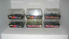 Aurora AFX Slot Car Display Boxes - 6 Total