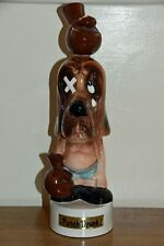 More details for bond ware musical china bloodhound decanter punch drunk japanese