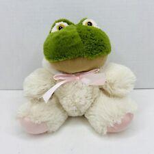 "Animal Adventure Frog in Easter Bunny Rabbit Costume Pajamas 10"""