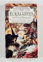 1988 Terry Pratchett EQUAL RITES Discworld novel #3 SIGNET PB EDITION first thus