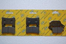 FRONT REAR BRAKE PADS fits HONDA CB 1100 S, 14-15 CB1100EX CB1100S CB1100SA
